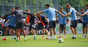 Regionalliga- Trainingsauftakt TSV 1860 Quelle Foto TSV 1860 München