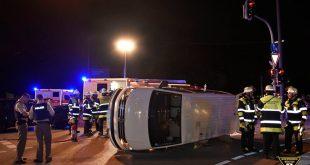 Verkehrsunfall Taxi München-Maxvorstadt Quelle Foto Berufsfeuerwehr München