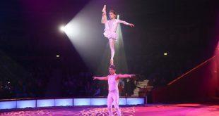 Schwanensee Ballett auf dem Kopf Februar Premiere Circus Krone 2018