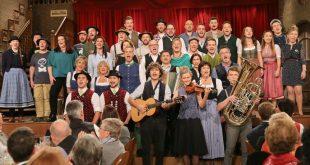 Ensemble Volkssänger-Revue Brettl-Spitzen VIII im Hofbräuhaus München