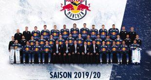EHC Mannschaftsbild 2019 Quelle EHC Red Bull München