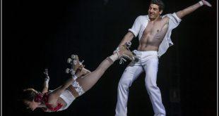 Rollschuh-Show Duo Zavatta Circus Krone