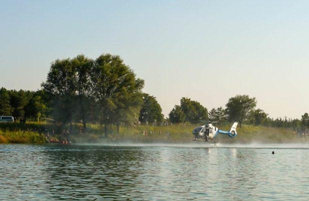 Suche mach Ertrunkenen im Riemer See