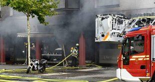 Konditorei in Pasing brennt aus