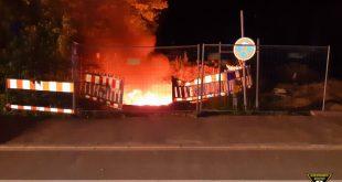 Kabelbrand Werksviertel