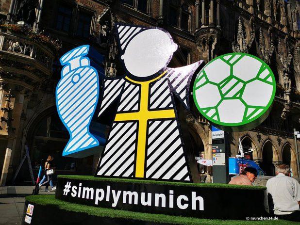 München ist Gastgeberstadt für die Fußball Europameisterschaft EURO2020