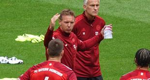 Trainingssituation Julian Nagelsmann, FC Bayern München