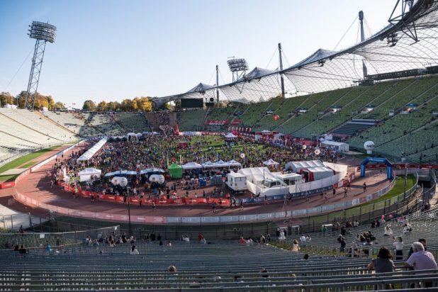 Ziel vom München Marathon ist das Olympiastadion