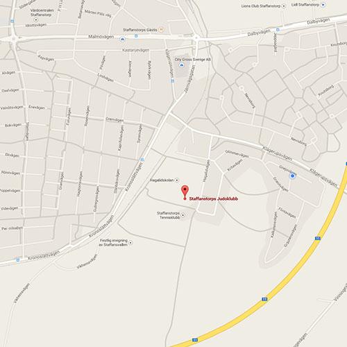 Karta till SJK