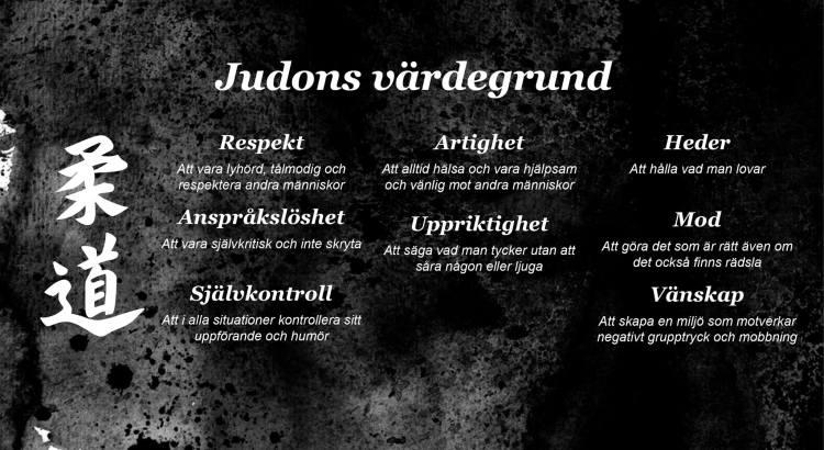 Judons värdegrund