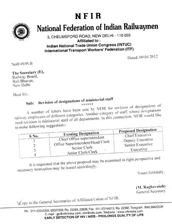 NFIR+Designation+Ministerial