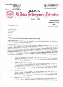 airf-letter-on-biometric-attendance-system-for-railway-staff-page1