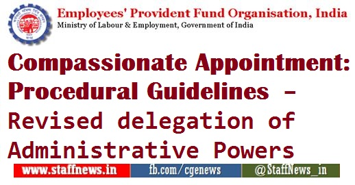 compassionate-appointment-procedural-guidelines-revised-delegation-of-administrative-powers