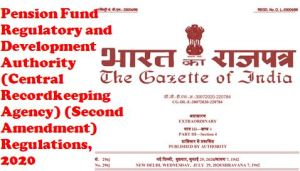 pfrda-central-recordkeeping-agency-second-amendment