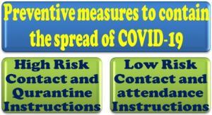 covid-19-preventive-measures-at-workplace-high-risk-contact-low-risk-contact-and-quarantine-instructions