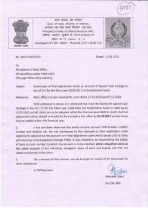 submission-of-final-adjustment-claims-on-account-of-special-cash-package-in-lieu-of-ltc-for-the-block-year-2018-2021