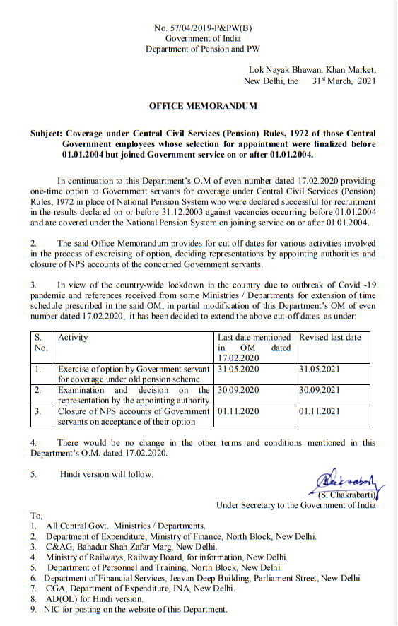 nps-to-ops-coverage-under-ccs-pension-rules-1972-of-selection-finalized-before-01-01-2004-but-joined-on-or-after-01-01-2004-doppw-order-dt-31st-march-2021