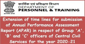 extension-of-time-lines-for-submission-of-apar-for-the-year-2020-21-dopt