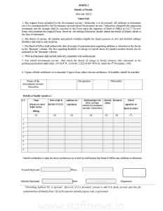 Form-2 Details of Family CCS NPS Rules 2021_English