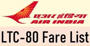 air-india-ltc-80-fare-list
