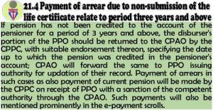 return-of-ppo-if-pension-not-credited-pensioner-account-for-3-years