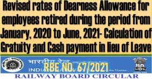 revised-rates-of-dearness-allowance-for-railway-employees-retired-during-from-jan-2020-to-jun-2021