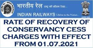 revision-of-conservancy-cess-charges-of-indian-railways