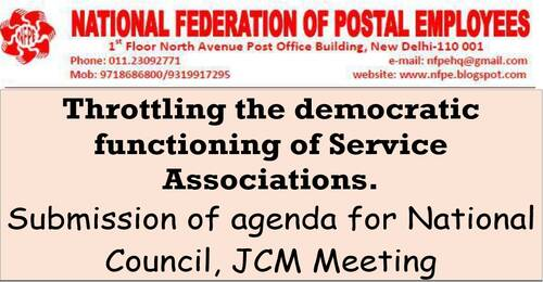 Throttling the democratic functioning of Service Associations