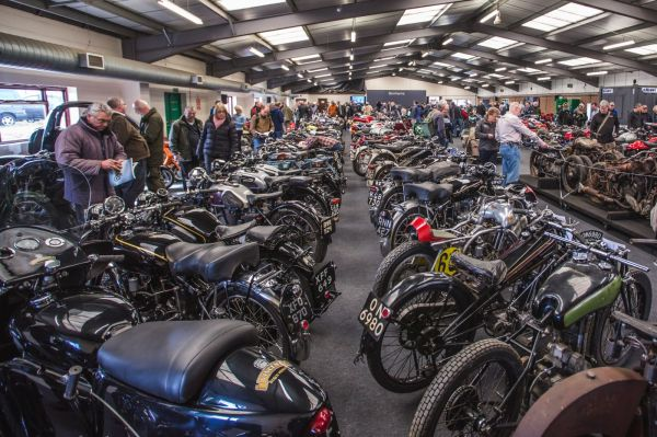 Bonhams April Stafford Classic Bike Shows