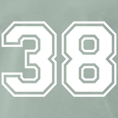 number 38 # 3