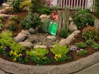 fredericksbug virginia landscaping with water features
