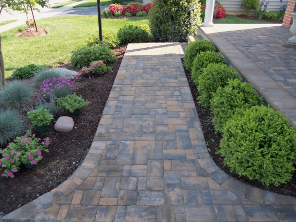 brick paver patios and walkways
