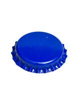 blue bottle cap