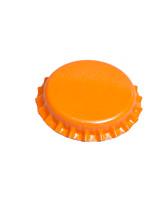 orange bottle cap