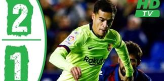 Levante vs Barcelona 2-1 Copa DFel rey 2019
