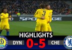 Dynamo Kiev Vs Chelsea 0-5 Goals & Full Highlights – 2019
