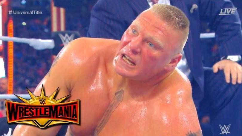 Brock Lesnar vs Seth Rollins – WWE Wrestlemania 2019