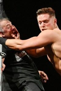 The Miz Mercilessly Assaults Shane McMahon For Attacking Miz's Dad – WrestleMania 35