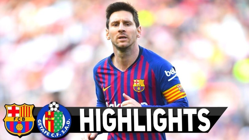 Barcelona 2-0 Getafe 5 12 2019 Match Highlight