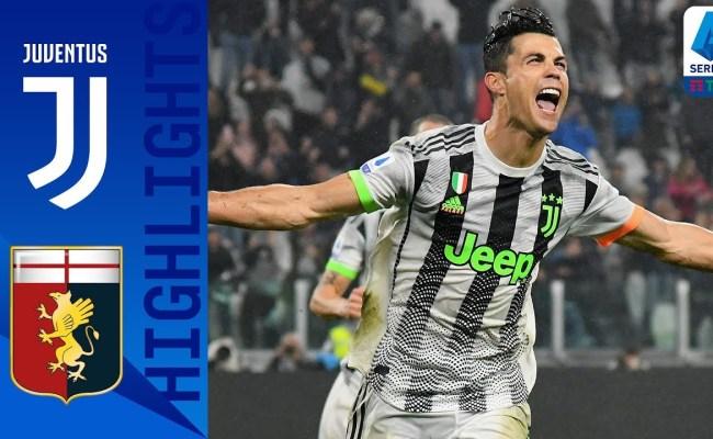 Juventus Vs Genoa 2 1 Goals And Highlights 2019 Hd