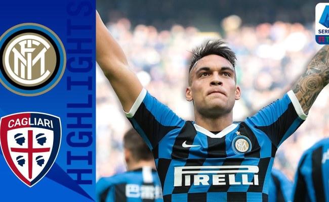 Inter Vs Cagliari 1 1 Goals And Full Highlights 2020