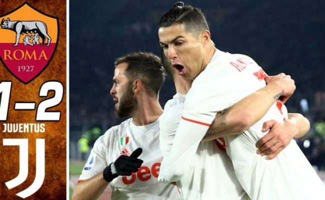 Roma Vs Juventus 1 2 Goals And Full Highlights 2020