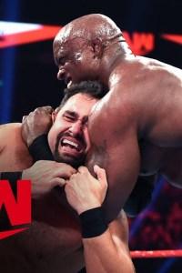 Rusev vs. Bobby Lashley – MONDAY NIGHT RAW