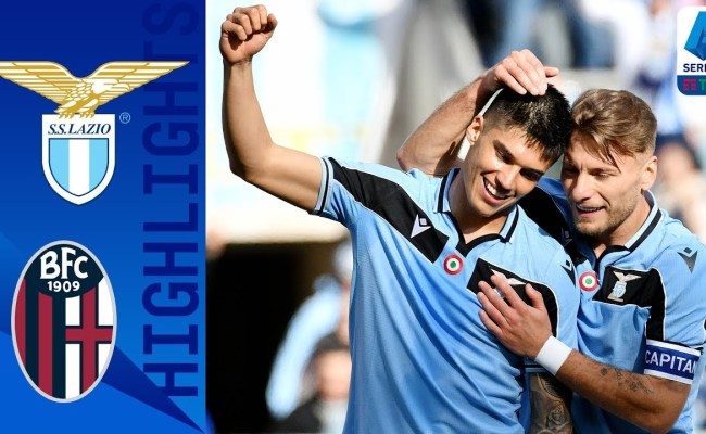 Lazio Vs Bologna 2 0 Goals And Full Highlights 2020
