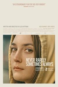 MOVIE: Never Rarely Sometimes Always (2020)