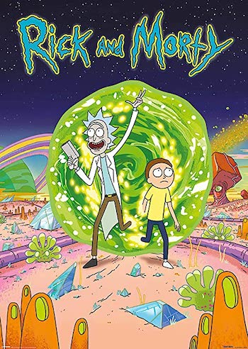 Rick and Morty S05E04 Dual Audio [Hindi English]
