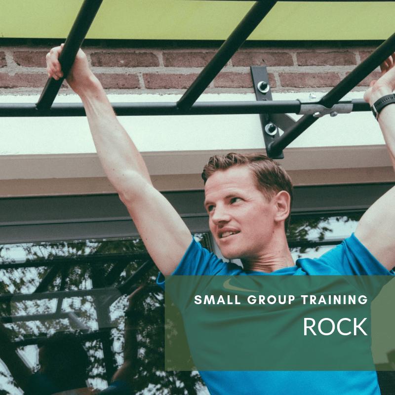 Sportgroep mannen - Small Group Training ROCK in Veenendaal