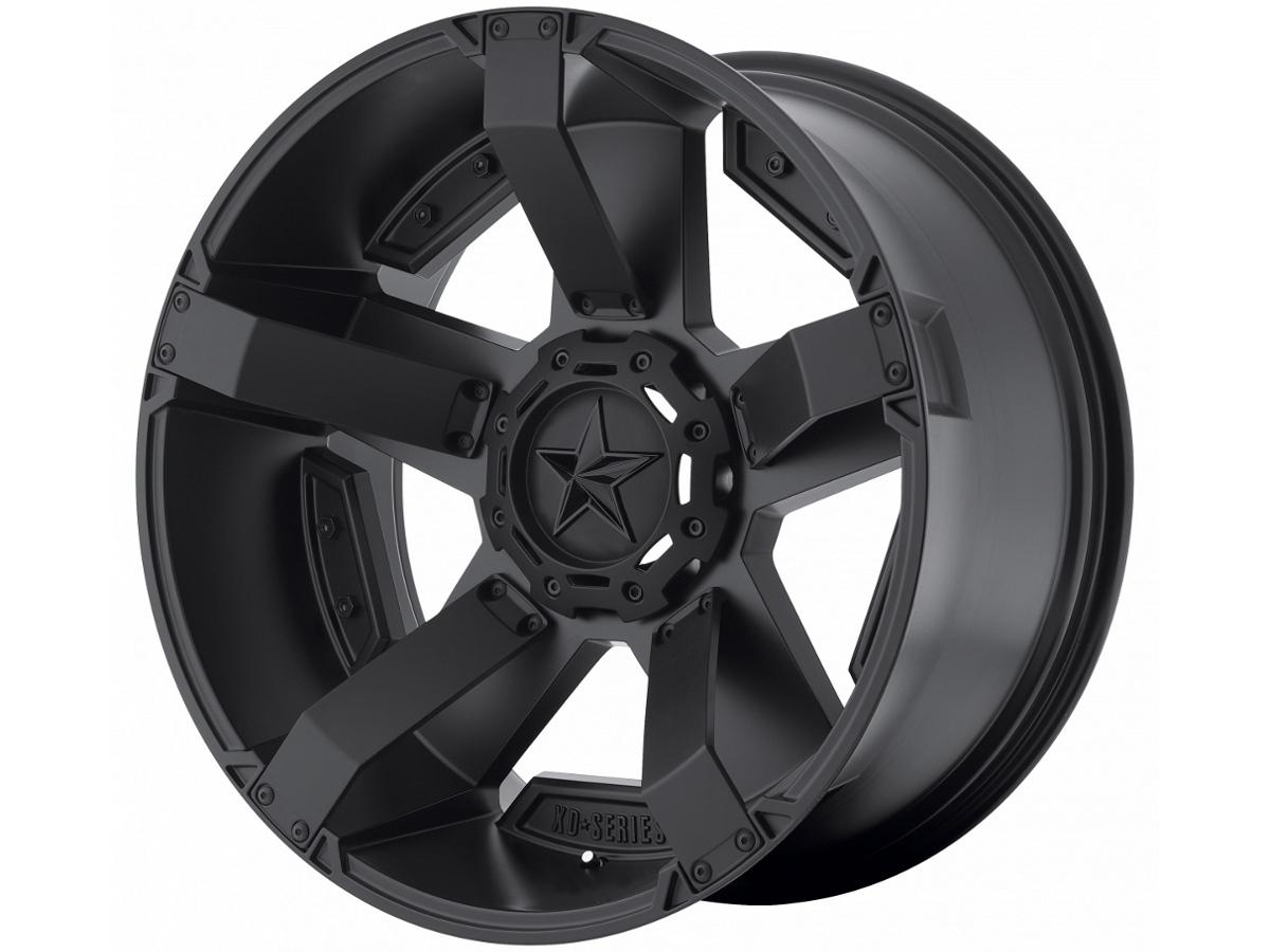 1997 2003 F150 XD 18x9 Matte Black Rock Star II Wheel 0 Offset XD81189043700