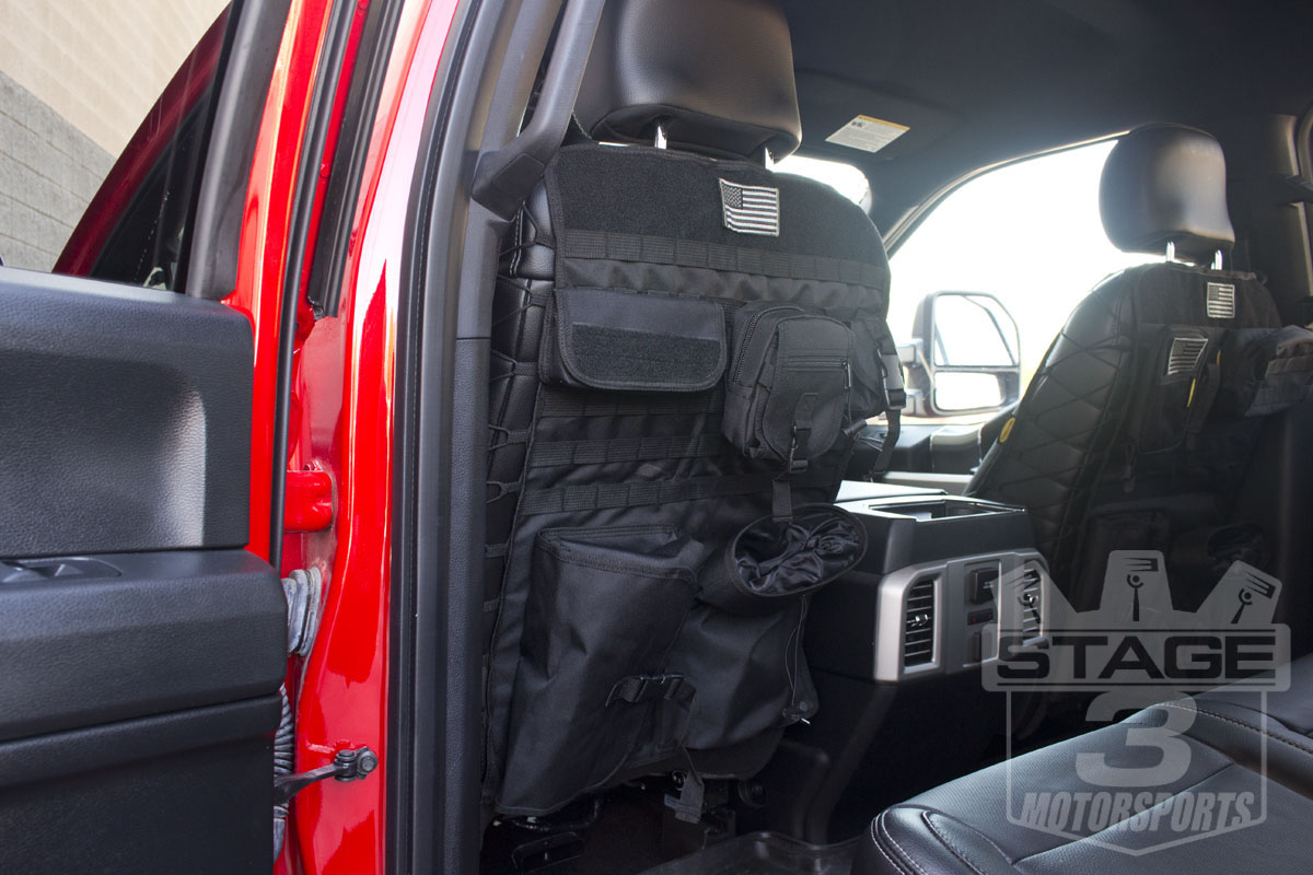 2015 2018 F150 Tactical Front Seat Back Cover 04 15F150TSC