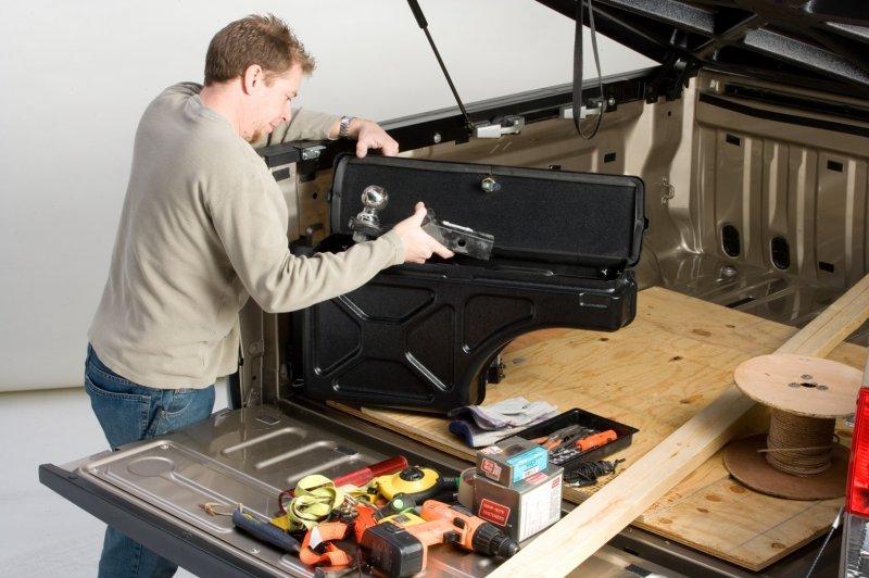 2015 2018 F150 Undercover Swing Case Storage Box
